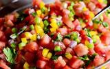 Mát ngọt salad dưa hấu cho ngày nắng hanh hao