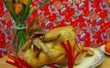 Cách buộc và luộc gà cúng đêm giao thừa nhanh và dễ nhất