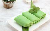 Bánh crepe lá dứa - món bánh ngọt ngào với cách làm đơn giản