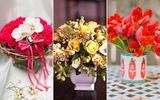 Trang trí nhà đẹp với 3 cách cắm hoa đơn giản tinh tế