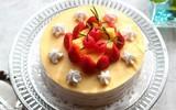 Bánh Crepe đẹp lung linh làm nhanh mà không cần lò nướng