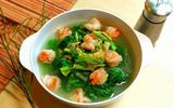 Bạn đã biết cách nấu canh cải tôm chuẩn vị cho bữa tối ngày gió mùa về!