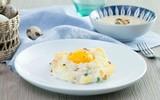 Xốp mềm bánh trứng nướng kiểu mới cho bữa sáng ngon miệng
