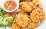 Món ngon cuối tuần: Tôm tẩm dừa nướng