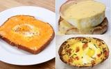 3 món ngon từ trứng cho bữa sáng nhanh gọn đủ chất