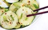 5 phút làm salad dưa chuột chua cay giòn mát