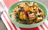 Bữa cơm chiều đơn giản mà ngon với món đậu phụ sốt rau củ