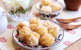 Giòn thơm hấp dẫn món bánh rán tẩm đường dân dã