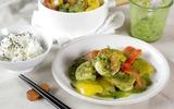 Bữa trưa ngày mưa ăn cà ri tôm là chuẩn không cần chỉnh!