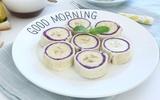 Bữa sáng ngon miệng với món bánh mì sandwich cuộn kiểu mới