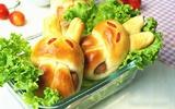 Bữa sáng ấm bụng với bánh mì thỏ mềm thơm đẹp mắt