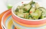 Chống ngán hiệu quả cho mọi bữa ăn với món dưa chuột chua cay ngon bá cháy