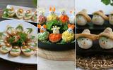 3 cách làm sushi hấp dẫn đẹp mắt đãi cả nhà
