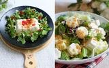 Sáng tạo với 2 cách làm món salad đậu hũ thanh đạm ngon miệng