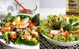 Muốn giảm cân nhanh đừng bỏ qua 2 món salad ngon này!
