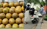 Mùa cóc chín, xe bán cóc dạo trung tâm Sài Gòn bán nửa tạ/ ngày, kiếm 40 triệu đồng/ tháng