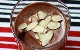 Panna cotta socola, món tráng miệng kiểu Ý