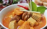 Đổi món với cà ri gà kiểu Thái