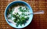 Xua tan giá lạnh với soup gà kiểu Thái