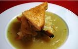 Giữ ấm cơ thể với món soup hành kiểu Pháp