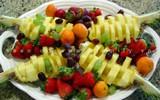 Tỉa trái cây nhanh mà đẹp, đơn giản mà bắt mắt