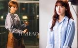 Áo sơmi đích thị là bảo bối phong cách cho các kiều nữ Hàn trong phim
