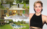 Cận cảnh ngôi nhà triệu đô đẹp tuyệt vời của Miley Cyrus