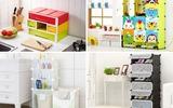 4 mẫu tủ lưu trữ tiện ích cho 4 không gian khác nhau giúp nhà luôn gọn đẹp