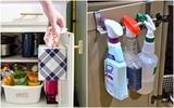 9 cách tận dụng cánh cửa tủ bếp để lưu trữ đồ