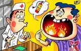 Phòng và trị các triệu chứng do nhiệt miệng gây ra