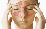 Vài động tác bấm huyệt giúp giảm cơn đau do viêm xoang