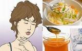 Những thực phẩm nên và không nên dùng khi bị viêm họng
