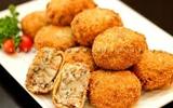 Khoai tây nhân thịt chiên xù - món ngon từ Nhật Bản