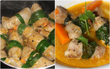 Đổi món cho bữa tối với thịt bò cuộn rau củ