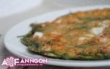 Cay giòn thơm ngon bánh xèo kiểu Hàn Quốc