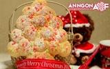 Giáng Sinh ngọt ngào với bánh mỳ hình cây thông đẹp mắt