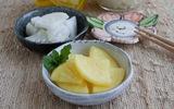 Chua giòn món củ cải muối kiểu Nhật