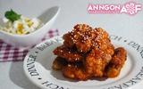 Cay thơm món gà chiên sốt cay kiểu Hàn Quốc