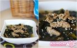 Mát bổ thơm ngon món canh rong biển thịt bò