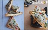 Pizza tôm siêu tốc cho bữa sáng thơm ngon
