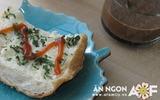 Ăn sáng ngon với bánh mỳ nướng tỏi giòn rụm
