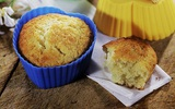 30 phút làm bánh muffin chanh sữa chua mềm thơm