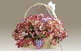 Làm giỏ hoa xinh xắn trang trí nhà ngày Tết
