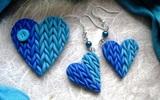 Làm duyên với bộ trang sức độc đáo hình trái tim