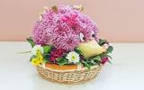 Hướng dẫn cách cắm hoa hình chú nhím xinh yêu