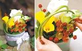 Mách bạn cách cắm hoa đẹp mà dễ dàng