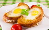 Bánh mỳ trứng kiểu mới cho cả nhà bữa sáng cực ngon