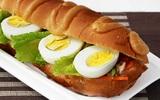 Ăn sáng ngon với bánh mỳ trứng kiểu mới