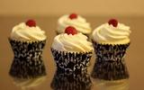 Cupcake chanh chua thơm hấp dẫn