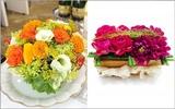 Trang trí bàn ăn với 2 cách cắm hoa đẹp mà dễ